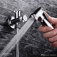 Wholesale Han Pai Brass Bathroom Bidet Faucet Toilet Portable Spray With Shower Holder Handheld Bidet grifo ducha HP7006