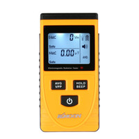 Wholesale Quality Digital LCD Electromagnetic Radiation Detector Meter Dosimeter Tester Counter built in electromagnetic radiation sensor