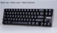 alu stock - Magicforce Smart Keys Alu Alloy Kailh MX Switches Double PCB LED Backlit Antighosting USB Mechanical Gaming Keyboard