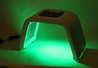 al por mayor cúpula de la piel-PDT LED fotodinámica Máscara facial rejuvenecimiento de la piel a reducir las arrugas faciales 4 diferentes colores cúpula de la belleza de la máquina Z-055