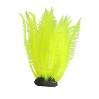 Wholesale Silicone Artificial Fish Tank Aquarium Coral Plant Ornament Water Decoratio