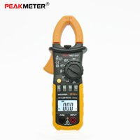 Cheap Professional 2000 Counts Auto Ranging Digital AC Clamp Meter with Backlit Similar with Fluke ClampMeter PEAKMETER MS2008A Multimeter