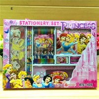 Wholesale Cartoon student children s stationery set