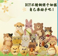 Wholesale 15 SET Animal Shape Silver Metal Sugarcraft Biscuit Jelly Mousse Cake Cookie Cutter Mould Kitchen Baking DIY Mold Tool