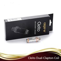 Wholesale Authentic Aspire Cleito Coils ohm ohm Replacement Atomizer Heads for Aspire Cleito Atomizer Tank Free