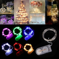 Wholesale Waterproof M LED Battery Operated Fairy Lights Christmas Trees Wedding Party Decoration Optional Light Colors Outdoor Indoor DEL_10C