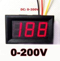 Wholesale Mini Digital Multimeter Car DC V Voltmeter Ohm Electrical Voltage volt Monitor Tester Portable Meter Red LED Display
