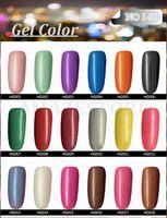 Wholesale 2016 Hottest Item Gelish Nail Polish Soak Off Nail Gel For Salon UV Gel Color ml supply
