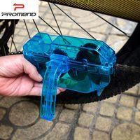Wholesale PROMEND Bicycle Chain cleaning Machine Tool Box For mountain MTB Road bike Folding Fix Gear Bike Chain Washing