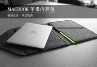 Wholesale laptop Cover Case For Macbook Pro Air Retina Notebook Sleeve bag Wool Felt Ultrabook Sleeve Pouch Bag buy sleeve bag get storage bag free