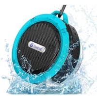 Cheap Mini Portable Wireless Bluetooth 3.0 Waterproof Shockproof Outdoor & Shower with 5W Speaker Suction Cup Mic Hands-Free phone