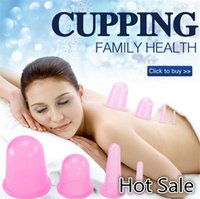 Wholesale High Quality Colors Sizes Beauty Care Silicone Massage Cupping Cup Anti cellulite Cup Medical Supply Therapy Cupping Cup B0498