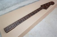 bass neck - Top quality Frets Zebrawood Electric Bass Guitar Neck Strings Guitar Parts musical instruments accessories