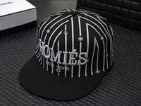 Wholesale The new hat Couples baseball cap Ms male hip hop flat hat Sun hat