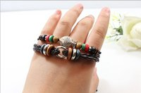 beaded chain chinese - Vintage Bracelet Chinese national wind Small fish wood bead weaving fashion bracelet Fashion Bracelet Animal zodiac Bracelet Lady Bracelet
