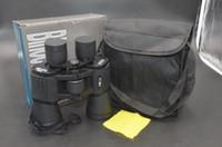 Wholesale 20X50 Binocular Super Clear mm Eye diameter Lens Telescope Black Gift Box m Hunting Hiking