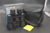 Wholesale Thanksgiving Day Black Friday X50 Binocular Super Clear mm Eye diameter Lens Telescope Black Gift Box m Hunting Hiking