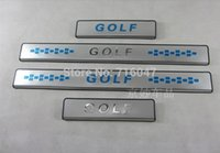 Wholesale New Stainless steel Door Sill Scuff Plate For Golf Golf K72BNY