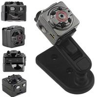 Wholesale SQ8 HD P P Mini digital video Camera DV Voice Video Recorder Infrared Night Vision Digital Camera Hidden Camcorder
