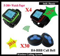 Wholesale 2016 NEW mhz queue calling system with Smart Wrist Watch K plus Pager watch And Transmitter Pager