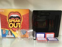 best science toys - Speak Out Game KTV party game cards for party Christmas gift newest best selling toy Creative toys HHA1122