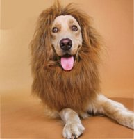 Wholesale Lion Mane Wig Pets wig with ears pet dog collar pet supplies Lionhead sets Pet Grooming Items