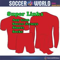 Wholesale 2016 Mens any teams soccer jersey Bundesliga Ligue Premier League La Liga national team shirts