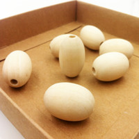 beading eggs - 50 mm wooden beads Ecofriendly date shape oval wood bead high quality egg pattern DIY painting beading EA17