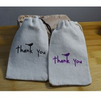 baby showe gifts - Creative Thank you Gift Bags Baby Showe Birthday Party Wedding Favor Holder Jewelry Drawstring Pouch