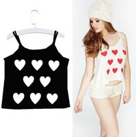 Wholesale Plus Hot Sexy Womens Spaghetti Strap Cotton Tops Summer Shirt Casual Blouse Vest