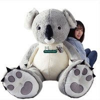 animal toy koala - Dorimytrader cm New Jumbo Plush Animal Koala Toy Large Stuffed Cartoon Koalas Doll Nice Baby Gift DY61191