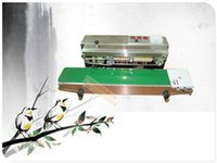 Wholesale warranty FR Continuous band sealer film sealing machine new arrives stainless steel price