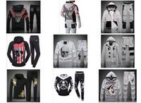 basketball knit jerseys - Hot Sale Spring Autumn Brand Men Sports Suit Tracksuits Sportwear Male Leisure Jacket Pants Sets Boy Outwear Clothing