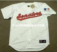 Wholesale Deluxe Edition Retro FRANK HOWARD Home Baseball Jersey TED WILLIAMS Throwback White Mens Stitched Jerseys