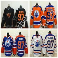 athletic team uniforms - Newest Orange Oilers Connor McDavid Hockey Jerseys Cheap Hockey Wear Professional Athletic Shirts Embroidered Sports Team Uniforms