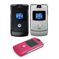 Cheap No Smartphone MOTOROLA RAZR V3 Best Motorola V3 MOTOROLA Phone