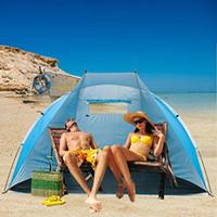 Wholesale iCorer EasyUp Outdoor Portable Beach Cabana Tent Sun Shelter Sunshade Blue quot L x quot W x quot H
