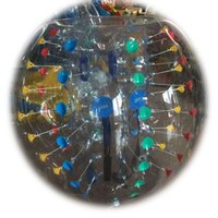 Wholesale Loopy Ball Football Bubble Zorbing Soccer Balls Inflatable PVC or TPU Diameter m m m