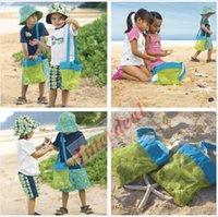 Wholesale Sand Away Baby Beach Shell Storage Bag Toys Sandboxes Carry Fun Storage Bag Pouch Tote Bags Sand Beach Treasures Starfish Shell Bag B137