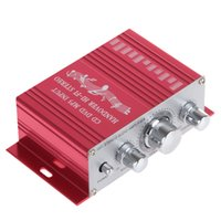 bass car amplifier - Handover Hi Fi Car Stereo Amplifier Support CD DVD MP3 Input DC V Treble Bass Volume Control CEC_800