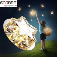 Wholesale New W LED Crystal Spotlights Indoor Recessed Down Lights V AC Bedroom Decor Lighting Corridor Lamps