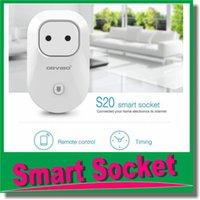 Wholesale Orvibo EU US UK AU Standard Power Socket Wi Fi Smart Switch Travel Plug Socket Home Automation for iPhone Android phones hot new OM CI6