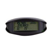Wholesale Digital Mini LCD Car Vehicle System Voltage Gauge Volt Meter Thermometer With Voltmeter EC98
