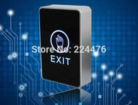 Wholesale push touch exit button door eixt release button for access control system