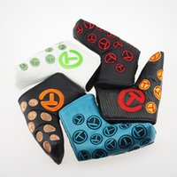Wholesale Hotting fashion brand Golf headcover T club putter headcover top quality PU Golf headcover with colors putter headcover