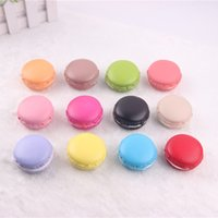 apple cake mix - good quality cm Macaron squishy soft pu colorful round cake food Cell Phone Straps model fashion party gift mix color order