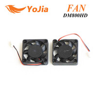Wholesale 2pcs CPU Fan for dm800 dm800hd hd satellite receiver cable receiver post order lt no track
