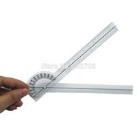 Wholesale CM Medical Goniometer plastic protractor deg angle ruler finger ruler