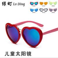 Cheap Round Sunglasses Best as pic show boys girls sun glasses
