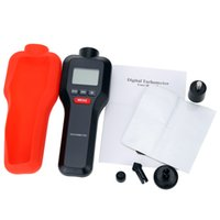 Wholesale 2 in Contact Non contact Measuring LCD Digital Laser Tachometer Rotation Tachometer Photo Tach RPM Surface Speed Tester